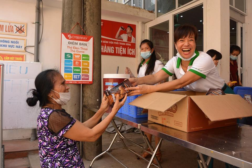 Hoạt động ngày 20/11 tại bệnh viện Lao Phổi Trung Ương